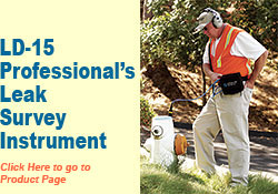 LD-15 Professional's Leak Survey Instrument