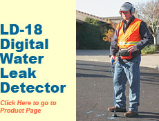 LD-18 Digital Water Leak Detector